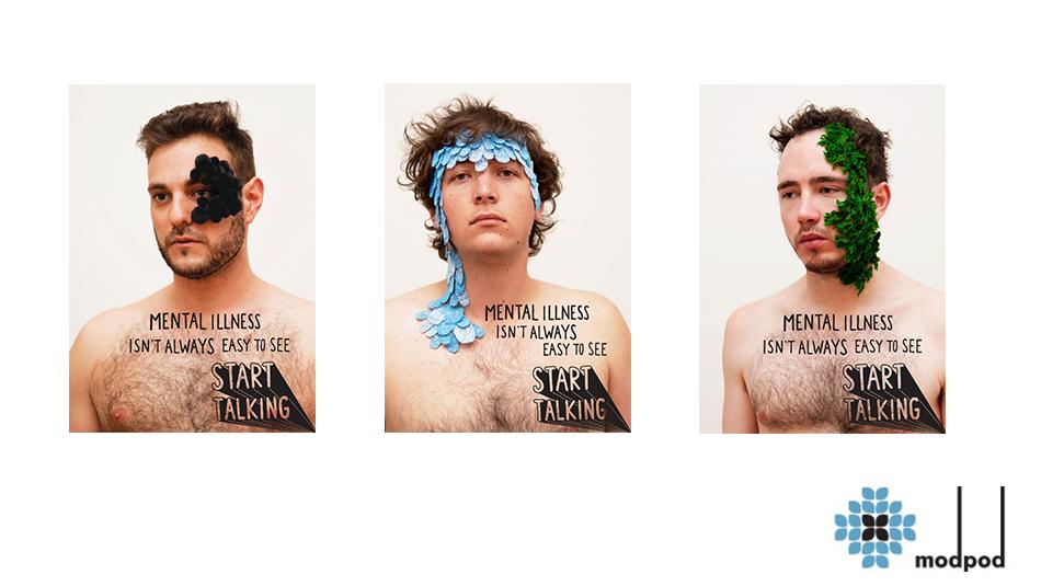 Mental illness campaign - Ben Posetti